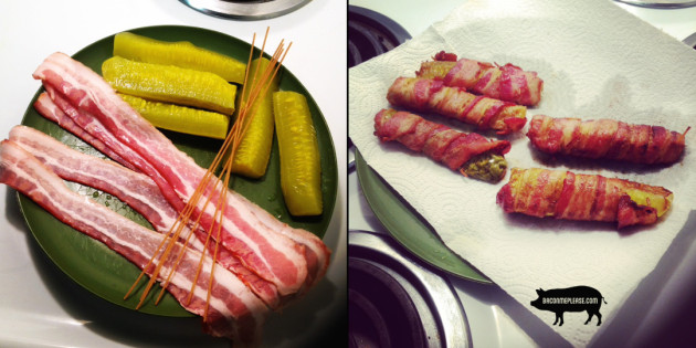 baconwrappedpickles before and after